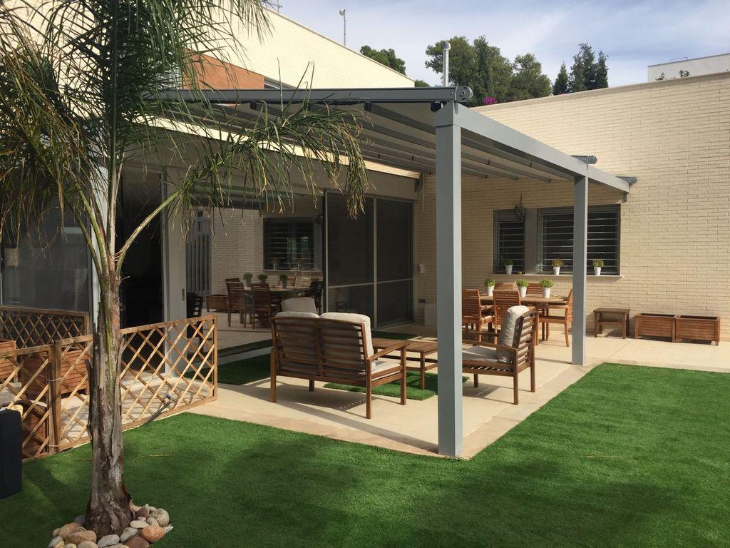 Lona para patio great toldos para patios with lona para for Toldos impermeables para patios